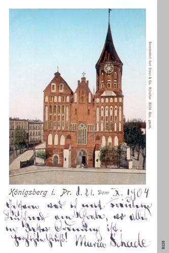Königsberg, Dom (farbig)