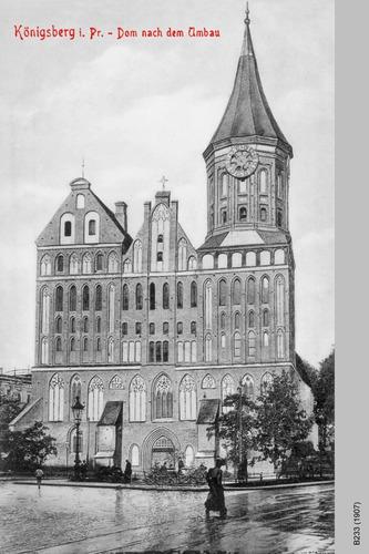 Königsberg, Dom nach dem Umbau