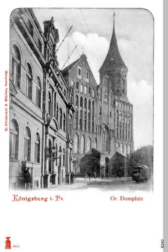 Königsberg, Großer Domplatz