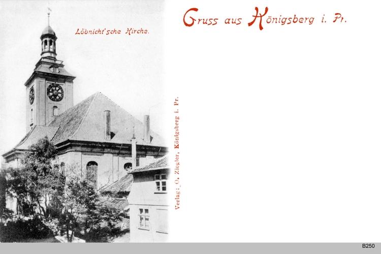 Königsberg, Löbenichtsche Kirche