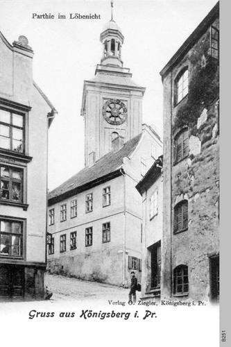Königsberg, Partie im Löbenicht