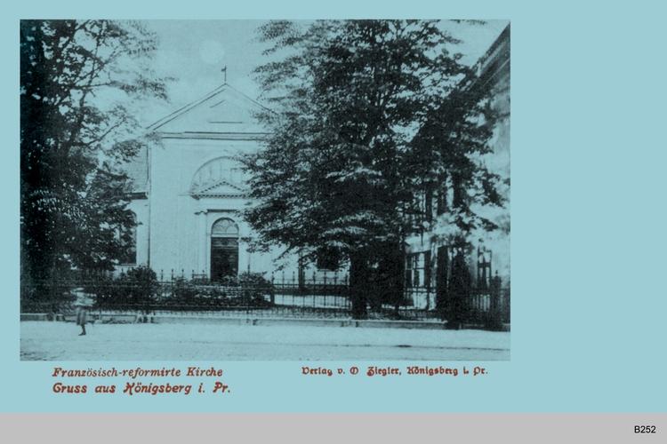 Königsberg, Französisch-reformierte Kirche