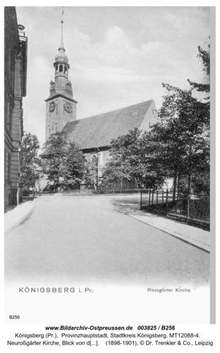 Königsberg, Neuroßgärter Kirche