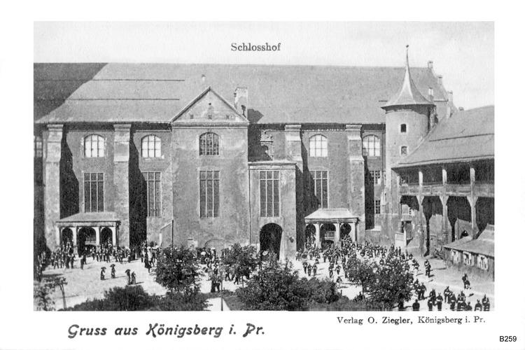 Königsberg, Schloßhof