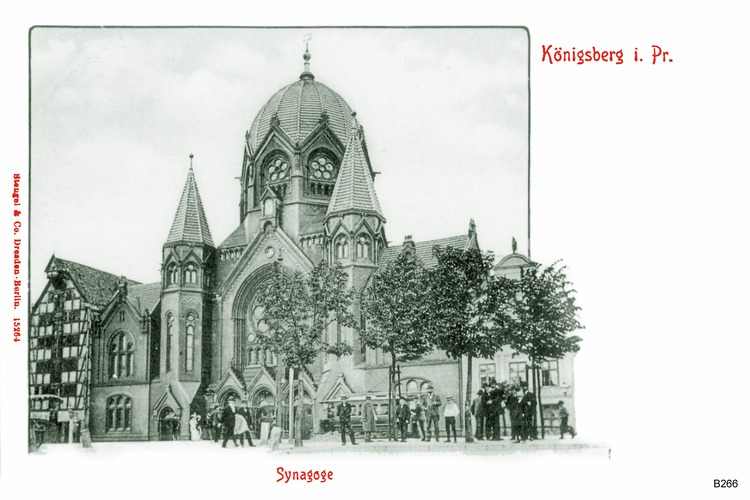 Königsberg, Synagoge