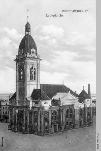 Königsberg, Lutherkirche