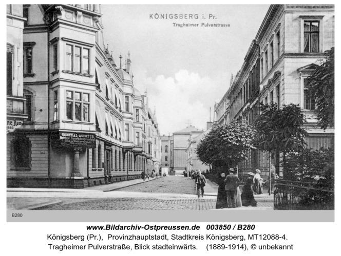 Königsberg, Tragheimer Pulverstraße