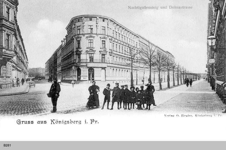 Königsberg, Nachtigallensteig, Dohnastraße