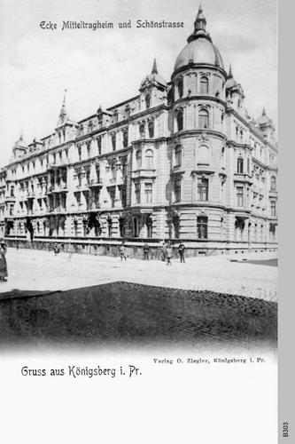 Königsberg, Mittragheim, Schönstraße
