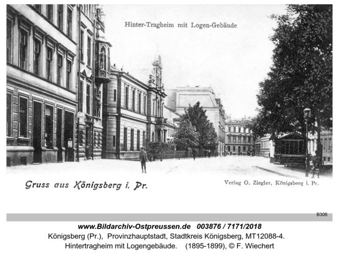 Königsberg, Hintertragheim mit Logengebäude