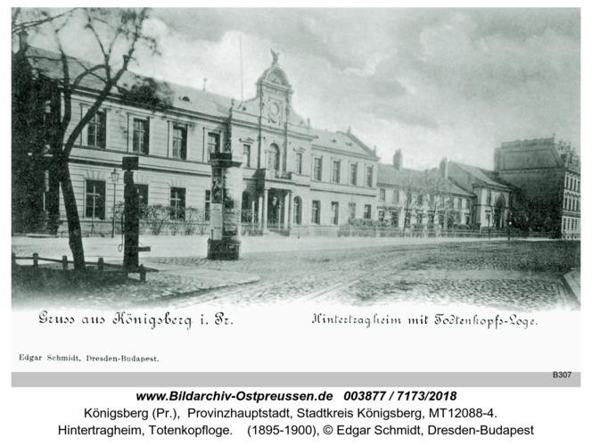 Königsberg, Hintertragheim, Totenkopfloge