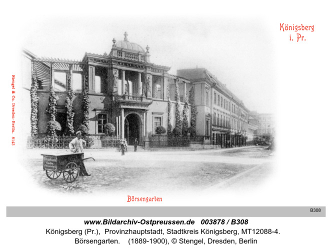 Königsberg, Börsengarten