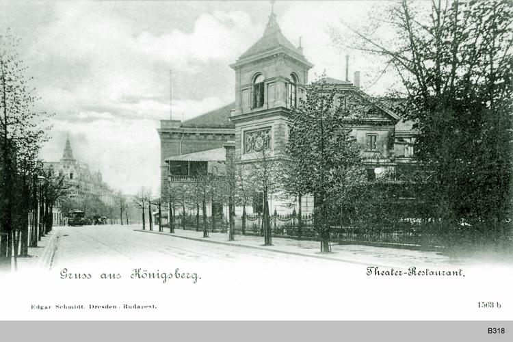 Königsberg, Theaterrestaurant