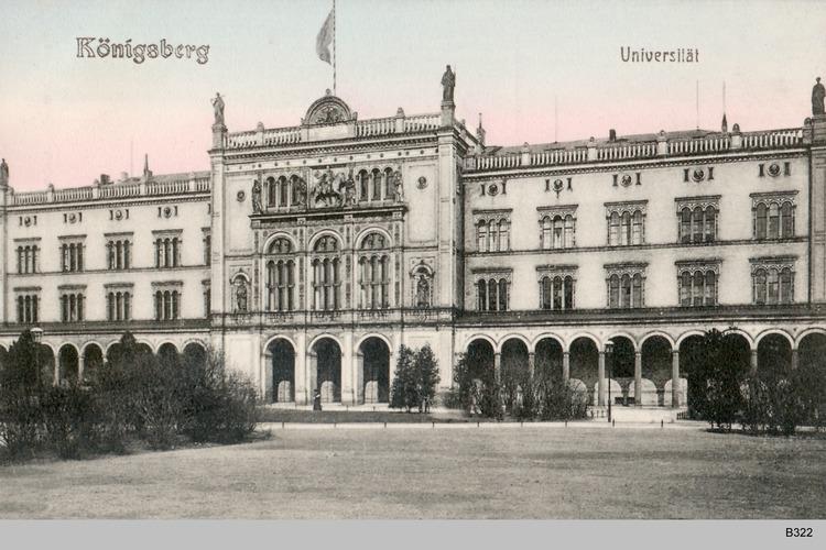 Königsberg, Universität