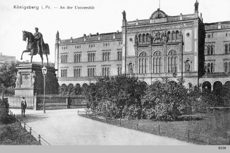 Königsberg, An der Universität