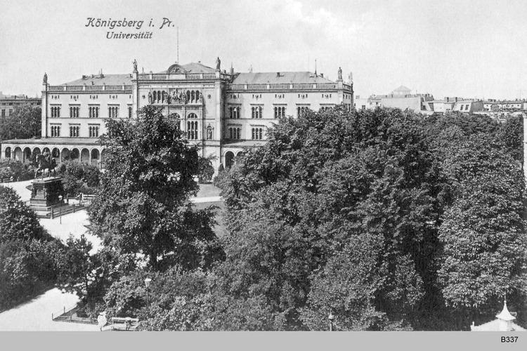 Königsberg, Universität und Königspark