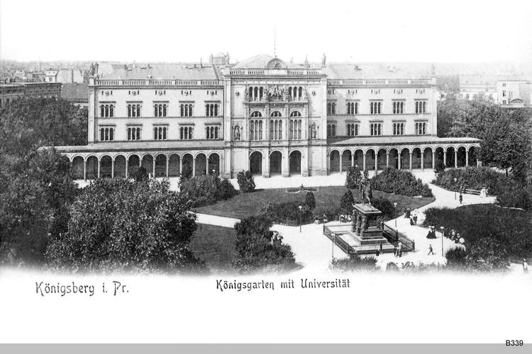 Königsberg, Königsgarten Universität