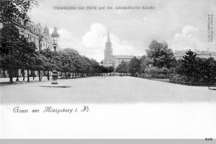 Königsberg, Paradeplatz, Altstädtische Kirche