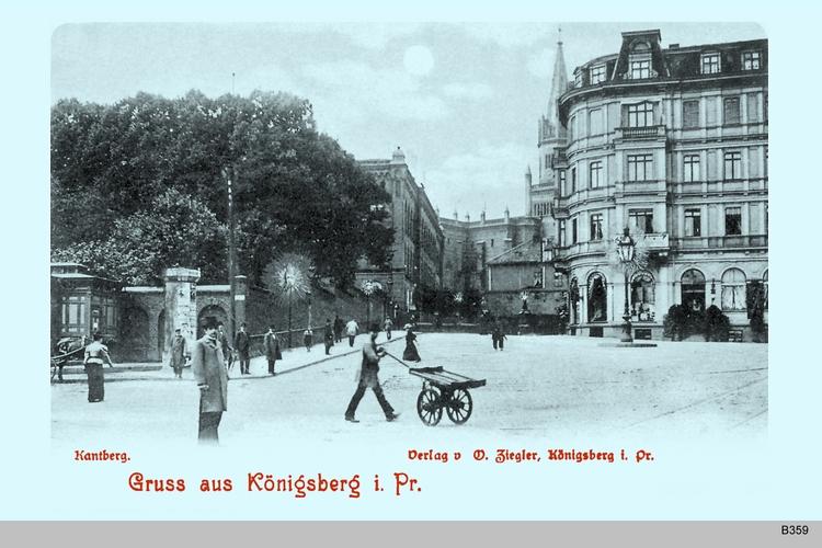 Königsberg, Kantberg