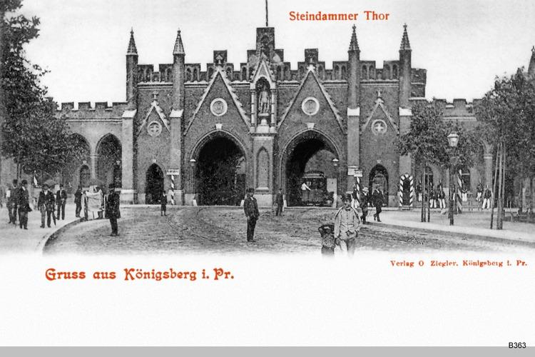 Königsberg, Steindammer Tor
