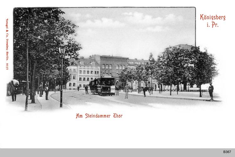 Königsberg, Am Steindammer Tor