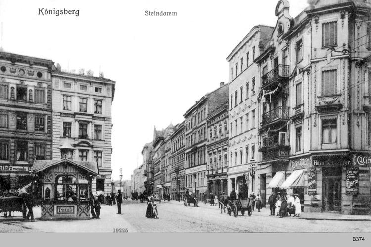 Königsberg, Steindamm