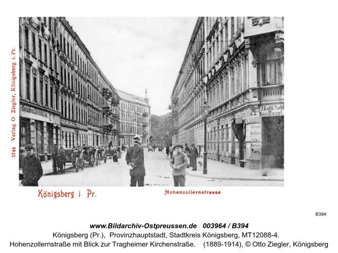 Königsberg, Hohenzollernstraße