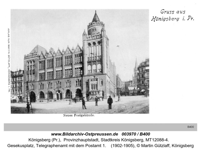 Königsberg, Neue Post