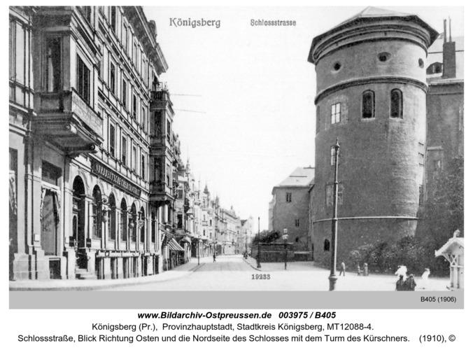 Königsberg, Schloßstraße