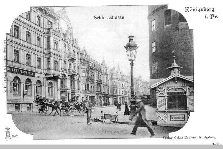 Königsberg, Schloßstraße, Creditanstalt