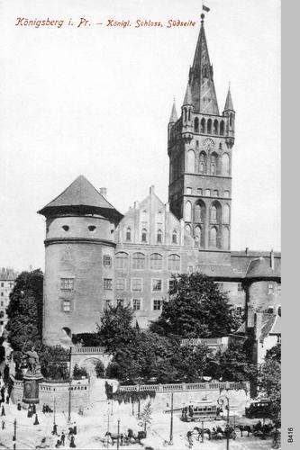 Königsberg, Schloß Südseite