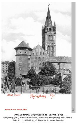 Königsberg, Schloß