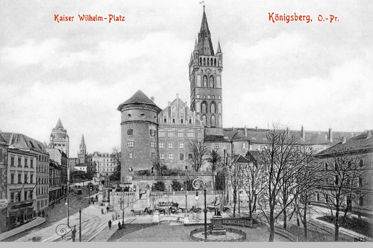 Königsberg, Kaiser Wilhem Platz