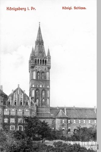 Königsberg, Schloß und Schloßkirche
