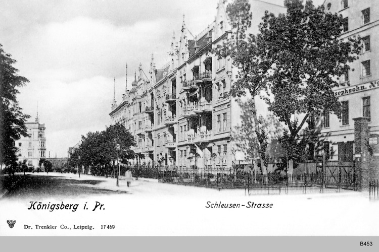 Königsberg, Schleusenstraße