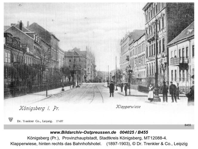 Königsberg, Klapperwiese