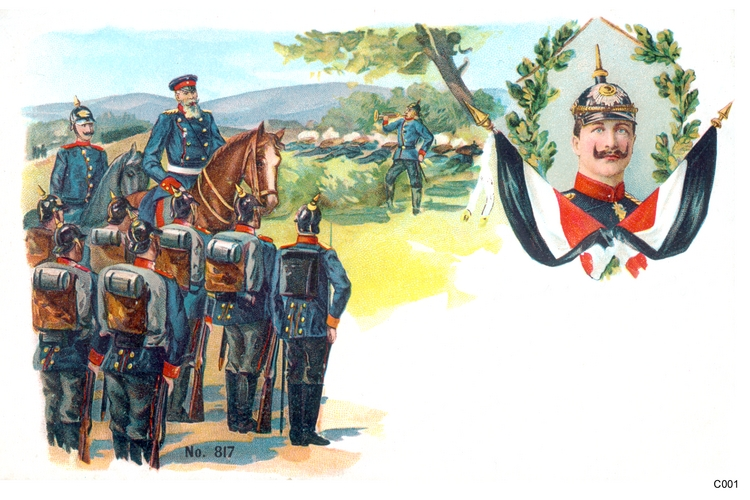 Königsberg, Soldaten Kaiser