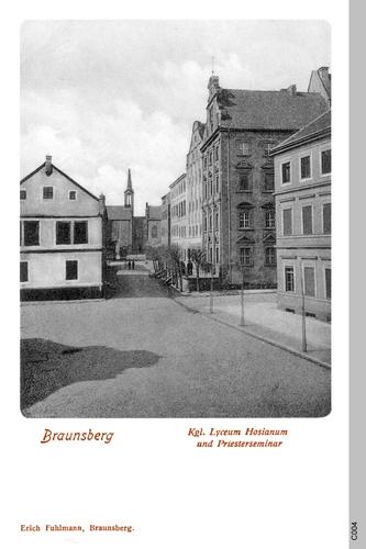 Braunsberg, Lyzeum