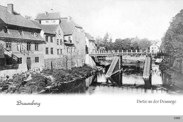 Braunsberg, Passarge