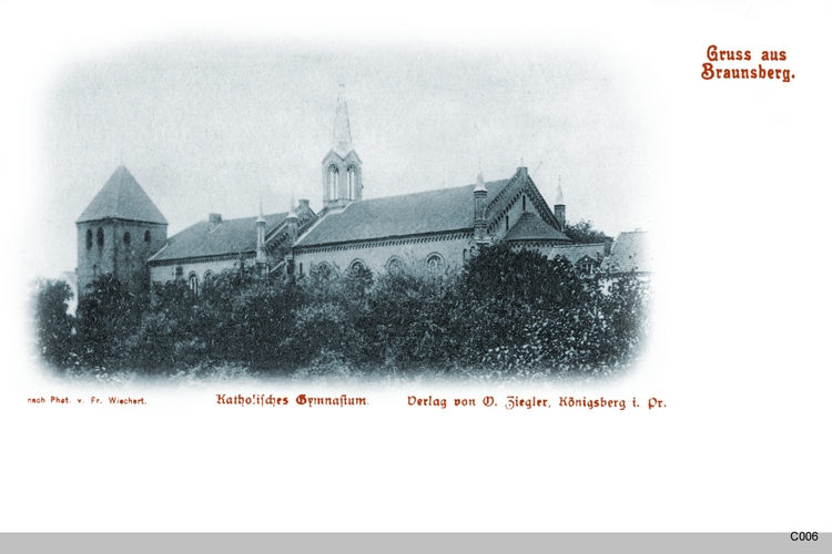 Braunsberg, Katholisches Gymnasium