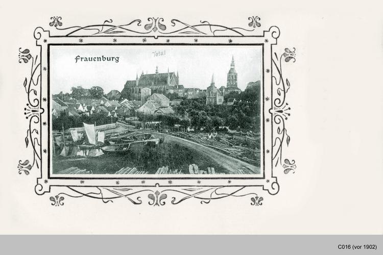 Frauenburg, Panoramablick