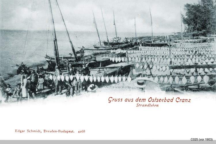 Cranz, Fischerstrand