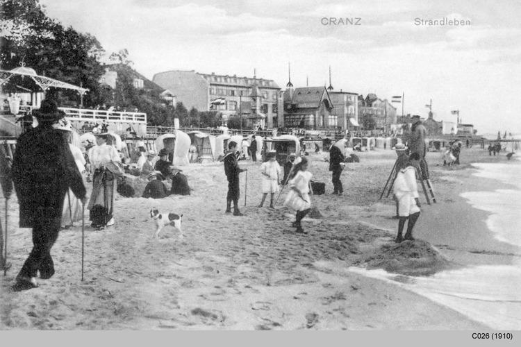 Cranz, Strandleben