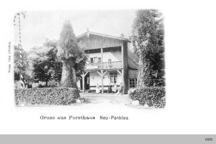 Neu - Panklau, Forsthaus