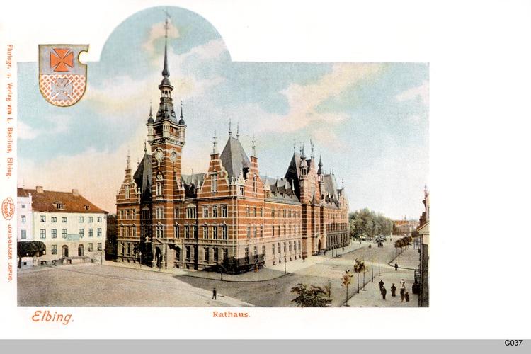 Elbing, Rathaus