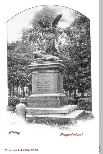 Elbing, Kriegerdenkmal
