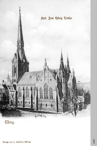 Elbing, Heilige Drei König Kirche