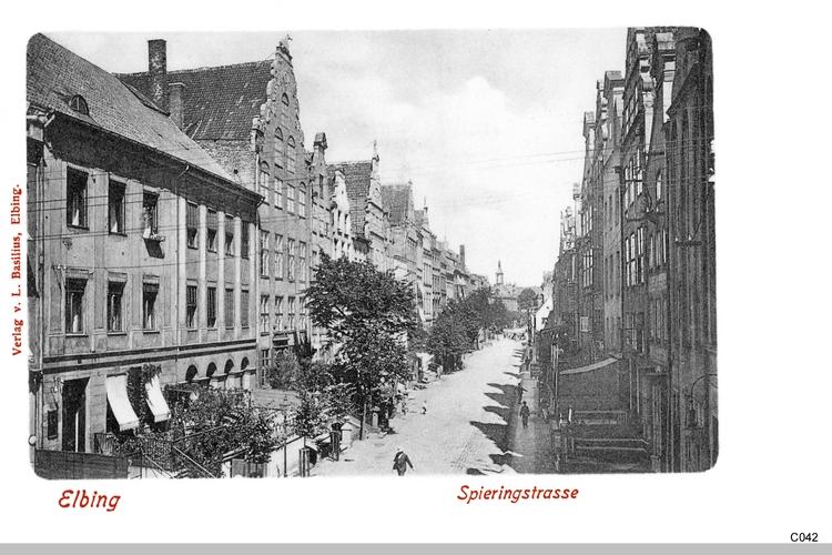 Elbing, Spiering Straße