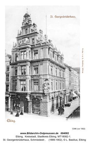 Elbing, St. Georgenbrüderhaus
