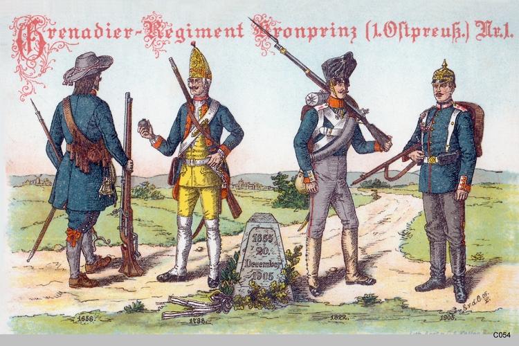 Königsberg, Grenadier Regiment Kronprinz 1